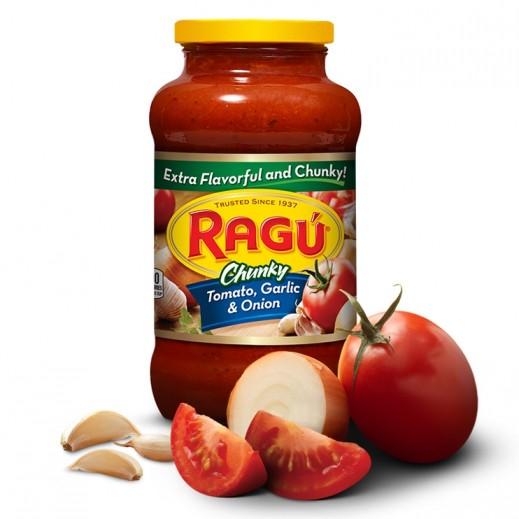 راغو - صلصة المعكرونة الأصلية بالثوم والبصل 680 جم