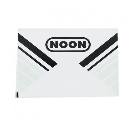 نون – ختامة 122 × 84 مم - أسود
