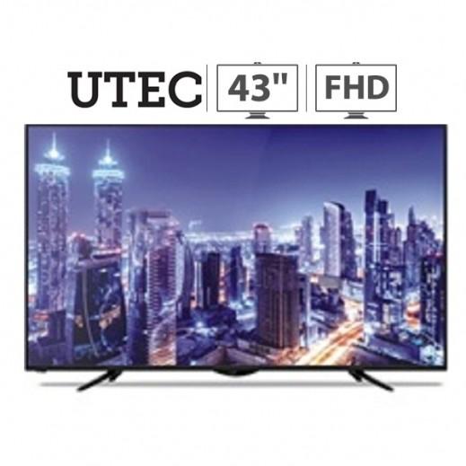 يو تيك – تلفزيون أندرويد 43 بوصة Full HD LED – أسود - يتم التوصيل بواسطة United Techno Electric Company