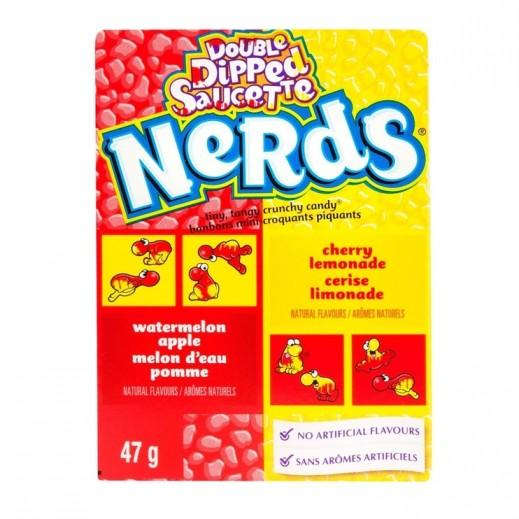 نيردس - حلوى نيردس بنكهة الرقي والتفاح 47 جم