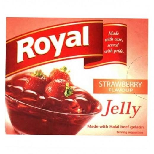 رويال - حلوى الجيلاتين بالفراولة 85 جم