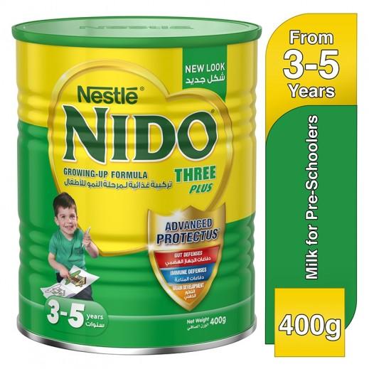 نيدو - حليب مـُجفف ثلاثة بلس لمرحلة النمو 400 جم – المرحلة (4)