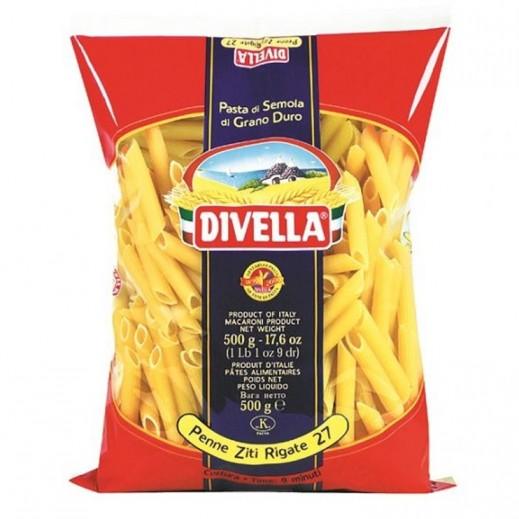 ديفيلا – معكرونة بيني 3 ألوان رقم 27 - 500 جم