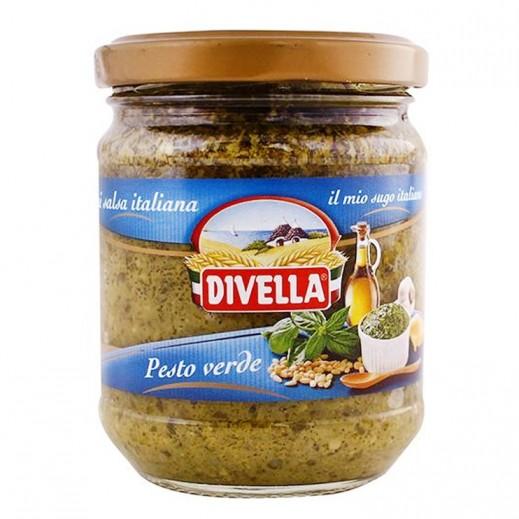 ديفيلا – صلصة بيستو الخضراء 190 جم