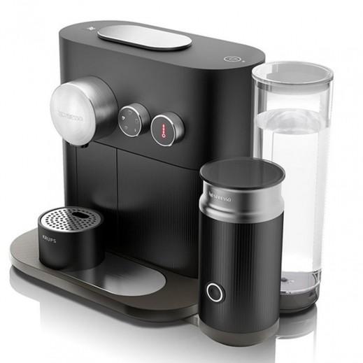 نسبريسو – ماكينة تحضير القهوة Expert&Milk – أسود