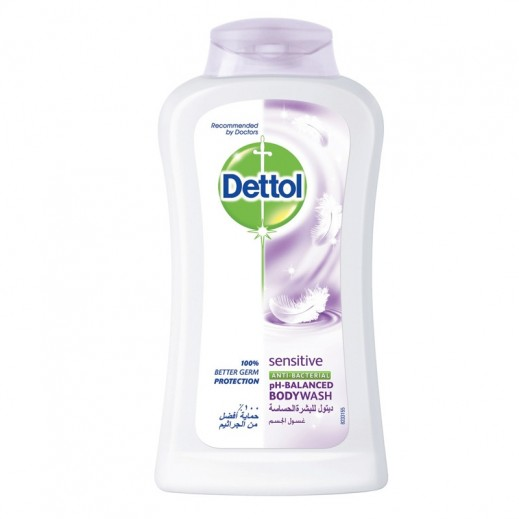 ديتول – غسول الجسم للحماية من الجراثيم للبشرة الحساسة – 250 مل