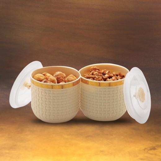 ميلودي – وعاء متعدد الأغراض 2 حبة - ألوان متعددة