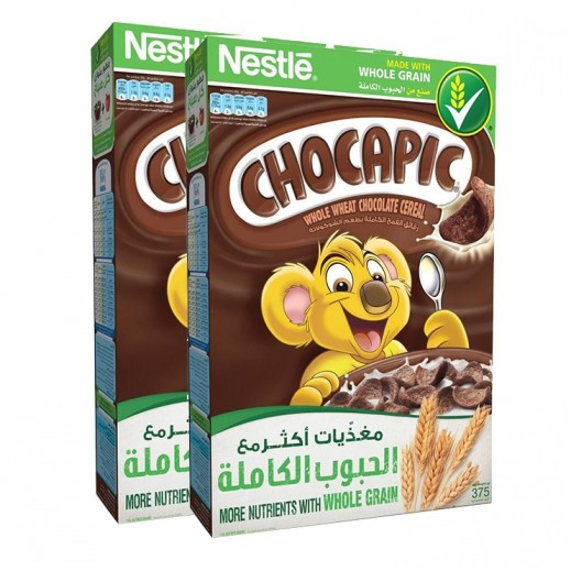 شوكابيك – رقائق القمح بطعم الشوكولاتة 2×375 جم
