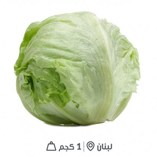 خس ملفوف طازج لبناني  1 كيلو تقريبا