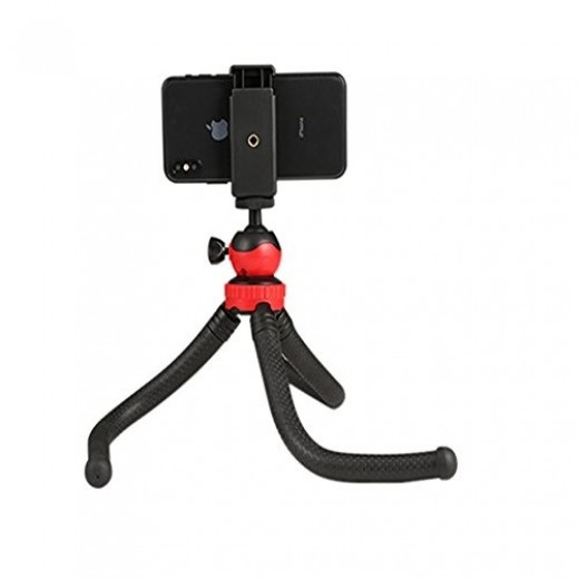 Flexible Tripod – Black & Red