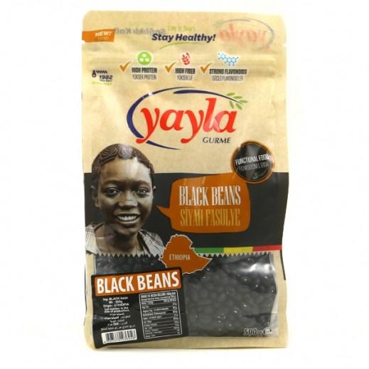 يايلا - حبوب الفاصوليا السوداء 500 جم