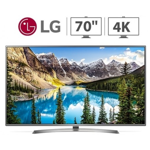 "إل جي – تلفزيون ذكي 70"" UHD 4K - يتم التوصيل بواسطة ABDULAZIZ SAOUD ALBABTAIN AND SONS COMPANY FOR ELETRICAL AND ELECTRONICS"