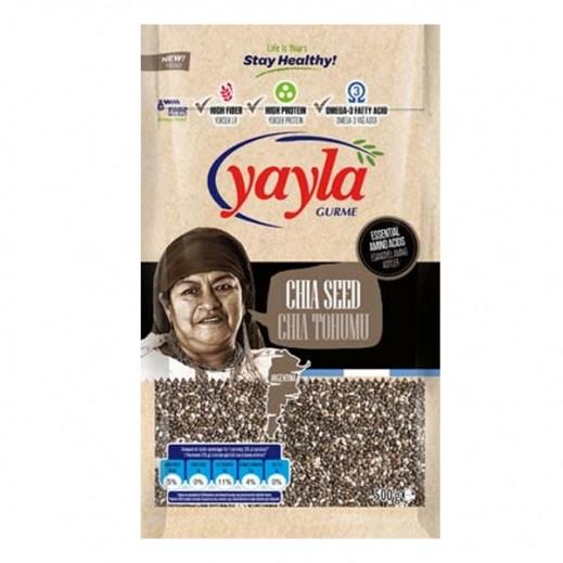 يايلا - بذور الشيا الطبيعية 500 جم