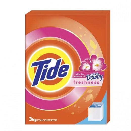 تايد - مسحوق الغسيل مع عبير داوني للغسالات العادية 3 كجم