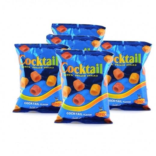 كتكو - حلقات بطاطا كوكتيل 30 جم (5 حبة)