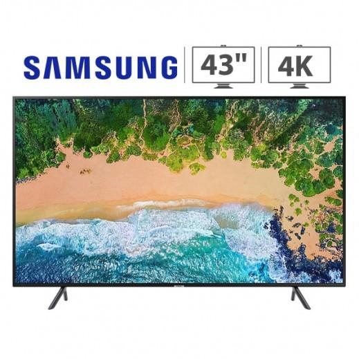 """سامسونج – تلفزيون 43"""" ذكي فئة 7 4K UHD - يتم التوصيل بواسطة AL ANDALUS TRADING COMPANY"""