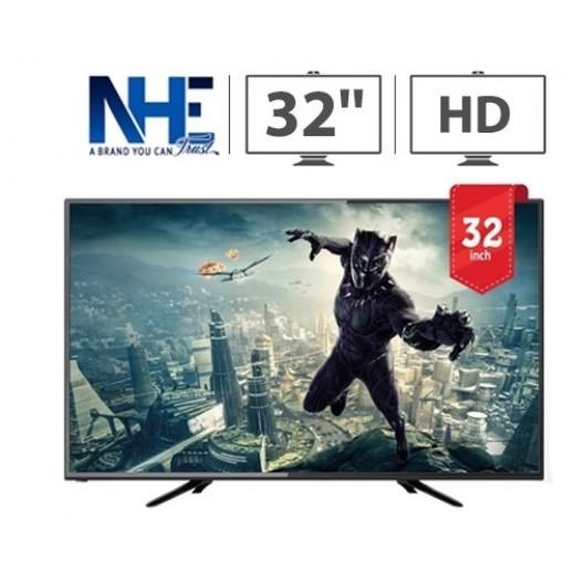 إن إتش إي – تلفزيون ذكي 32 بوصة HD LED – أسود  - يتم التوصيل بواسطة Nasser Alhusainan