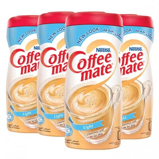 كوفى مايت - مبيض القهوة لايت قليل الدسم خالٍ من الحليب 4 × 450 جم