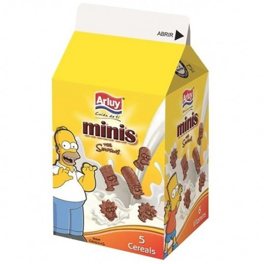 أرلوي - بسكويت ميني سيمبسون بالشوكولاتة 135 جم