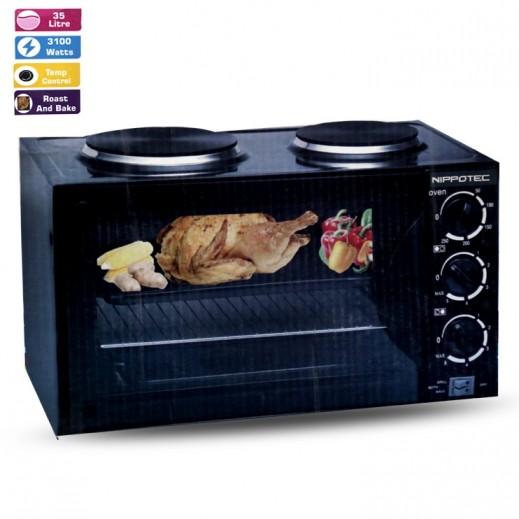 نيبوتيك – فرن كهربي مع طباخ كهربائي 2 شعلة