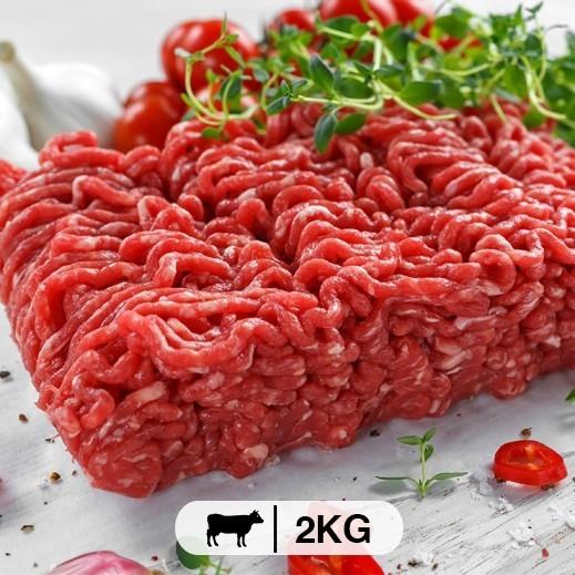 مفروم لحم بقري (جنوب أفريقي) 2 كجم - يتم التوصيل بواسطة  عمل المتحدة العالمية خلال4  ساعات