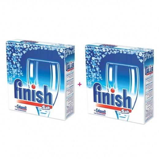 فينيش – مسحوق غسيل الأطباق بالملح 2 × 2 كجم