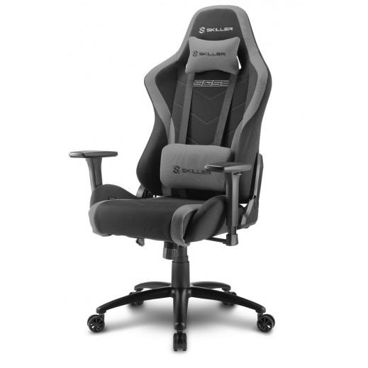 """شاركون – كرسي ألعاب الفيديو """"كلاس 4"""" ثلاثي الأبعاد مع مسند ذراع 60 مم – أسود - يتم التوصيل بواسطة شركة توصيل خلال يوم العمل التالي"""