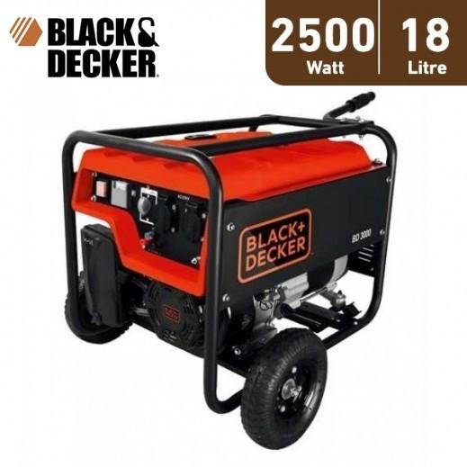 بلاك أند ديكر - مولد طاقة و محول 18 لتر 2500 واط – برتقالي - يتم التوصيل بواسطة Market Vision Trading