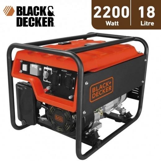 بلاك أند ديكر - مولد طاقة و محول 18 لتر 2200 واط – برتقالي - يتم التوصيل بواسطة Market Vision Trading