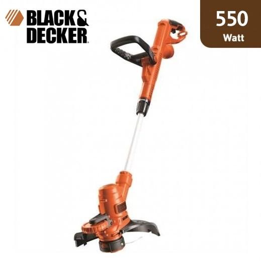 بلاك أند ديكر - ماكينة قص العشب بقوة 550 واط – برتقالي - يتم التوصيل بواسطة Market Vision Trading