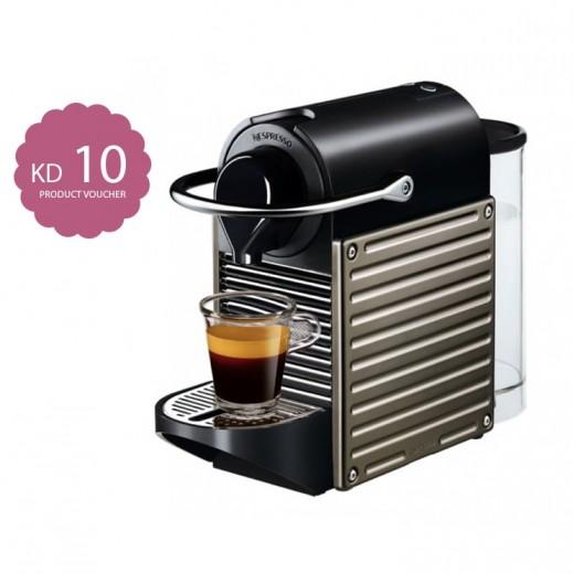 نسبريسو – ماكينة تحضير القهوة Pixie– تيتان