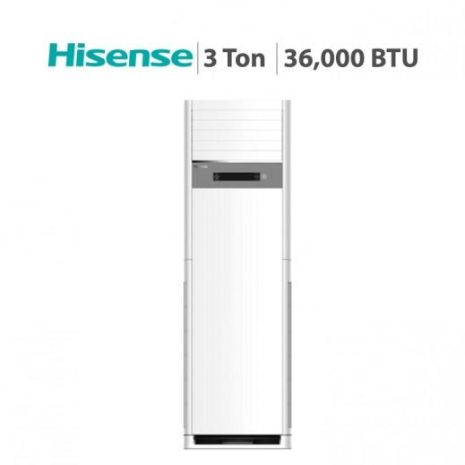 هايسينس –  مكيف هواء عمودي 3  طن 36,000 BTU - يتم التوصيل بواسطة AL ANDALUS