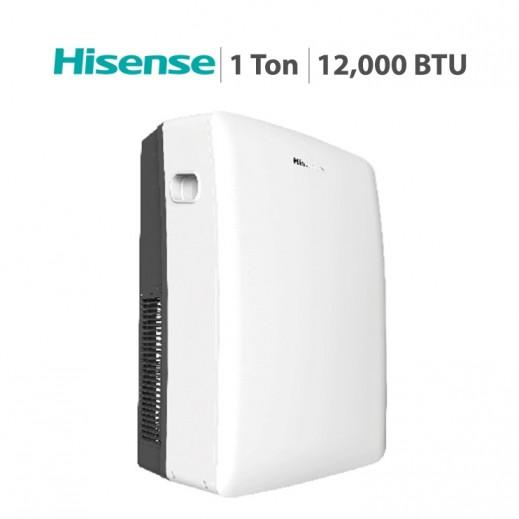 هايسينس – مكيف هواء متنقل 1 طن 12,000 BTU  - يتم التوصيل بواسطة AL ANDALUS