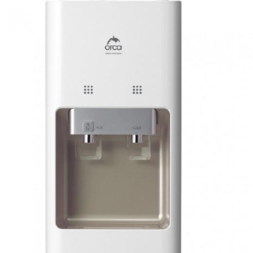 اوركا – براد مياه 2 منفذ – ابيض - يتم التوصيل بواسطة  AL-YOUSIFI CO.