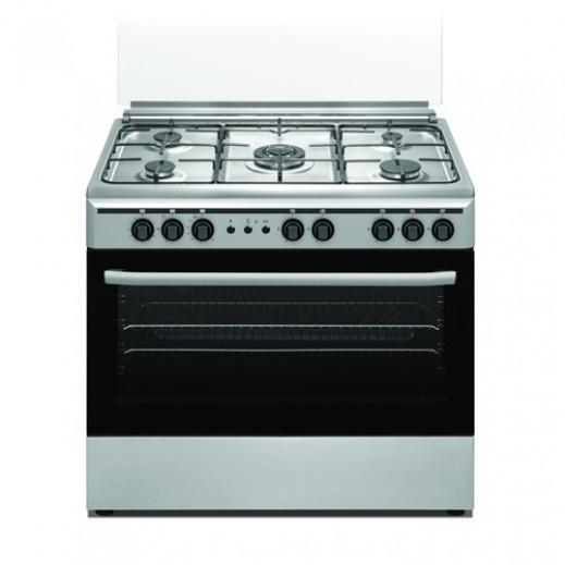 اوركا – طباخ غاز 5 شعلة 90×60 سم - يتم التوصيل بواسطة  AL-YOUSIFI CO.
