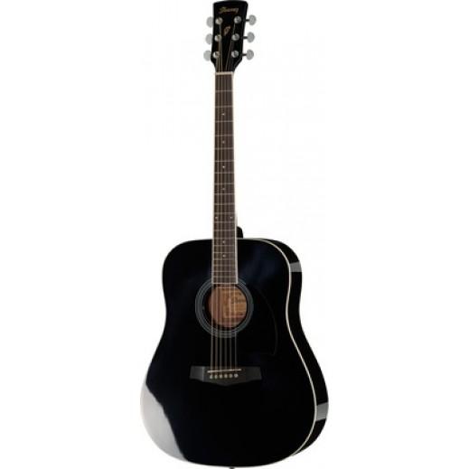 ايبانيز- جيتار صوتي – اسود - يتم التوصيل بواسطة Salmeen