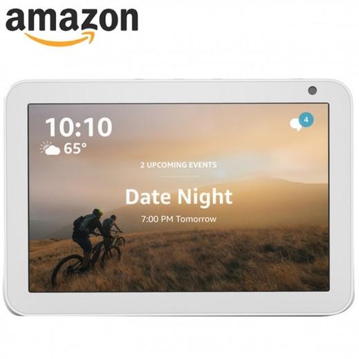 امازون – جهاز امازون ايكو شو 8 بشاشة ذكية 8 بوصة مع تفنية اليكسا – لون رملى