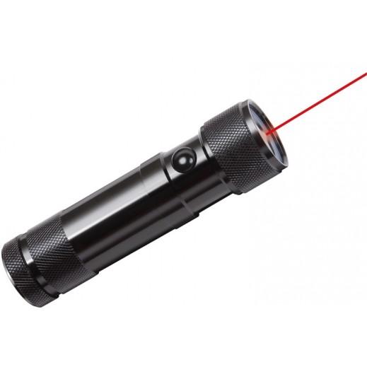 برينستول - ضوء ليزر LED - أسود
