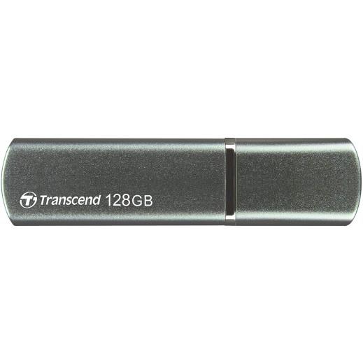 ترانسيند - فلاش درايف سعة 128 جيجا بمدخل USB A JetFlash 910 - أخضر