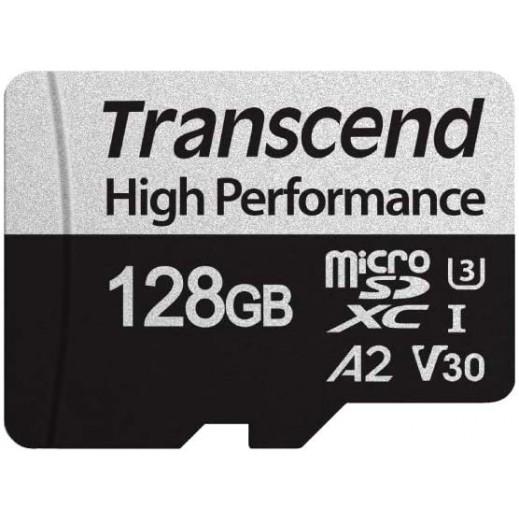 ترانسيند - بطاقة ذاكرة ميكرو SDXC سعة 128 جيجا