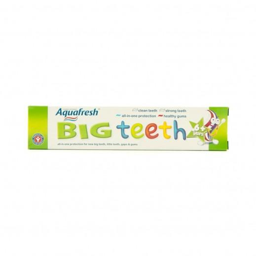 """أكوافريش – معجون """"الأسنان الكبيرة"""" للأطفال 50 مل (6+ سنوات)"""