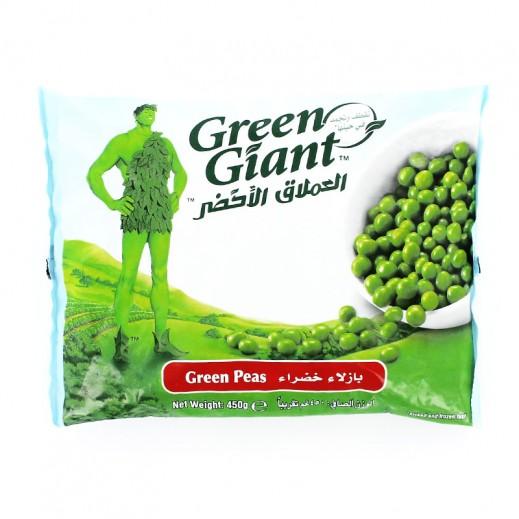 العملاق الأخضر – بازلاء خضراء مجمدة 450 جم