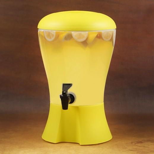 موزع المشروبات - أصفر 4.5 لتر