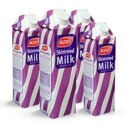 KDD Long Life Skimmed Milk 1 ltr
