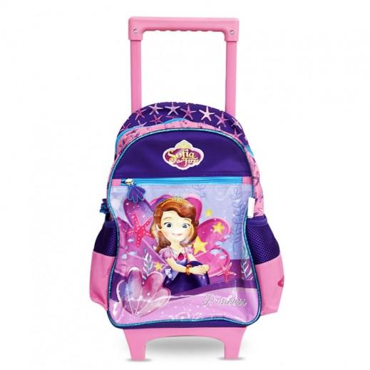 صوفيا – حقيبة مدرسية ترولي 14 بوصة