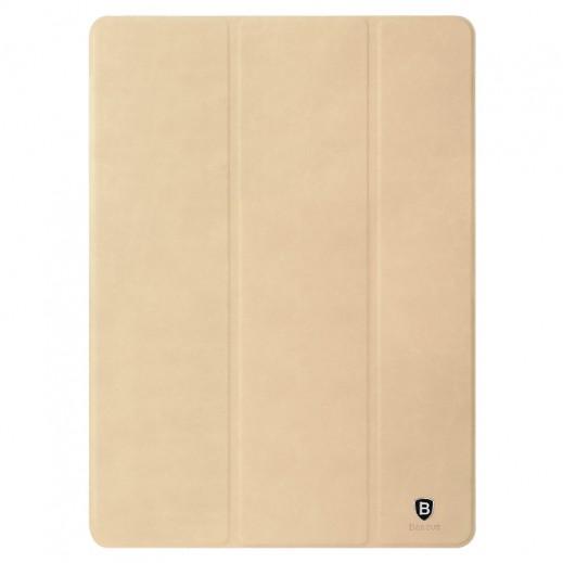 باسيوس – غطاء جلد لآيباد برو 9.7 إنش – بني فاتح
