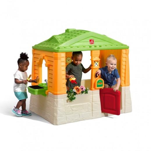 ستيب 2 – منزل الألعاب الأنيق للأطفال   - يتم التوصيل بواسطة شهاليل بعد 3 أيام عمل