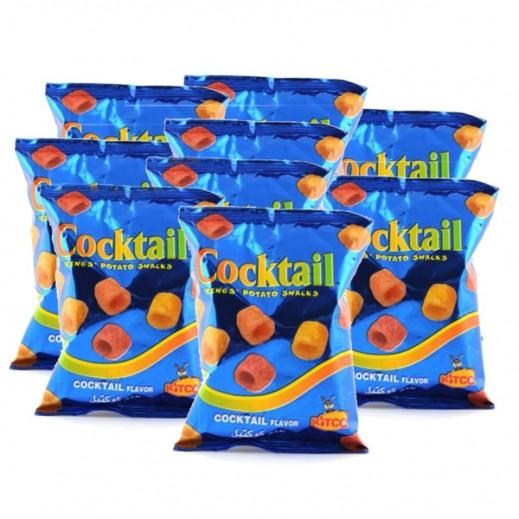 كتكو - حلقات البطاطا كوكتيل 18 جم (15 حبة)