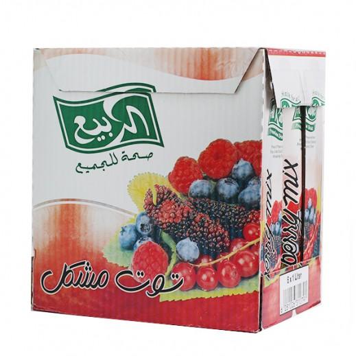 الربيع - عصير مزيج التوت نكتار 1 لتر (6 حبة)