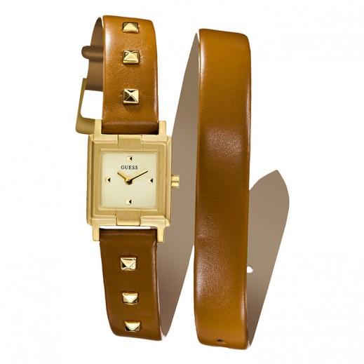جيس - ساعة WRAP N ROLL للنساء بحزام جلد - يتم التوصيل بواسطة Beidoun